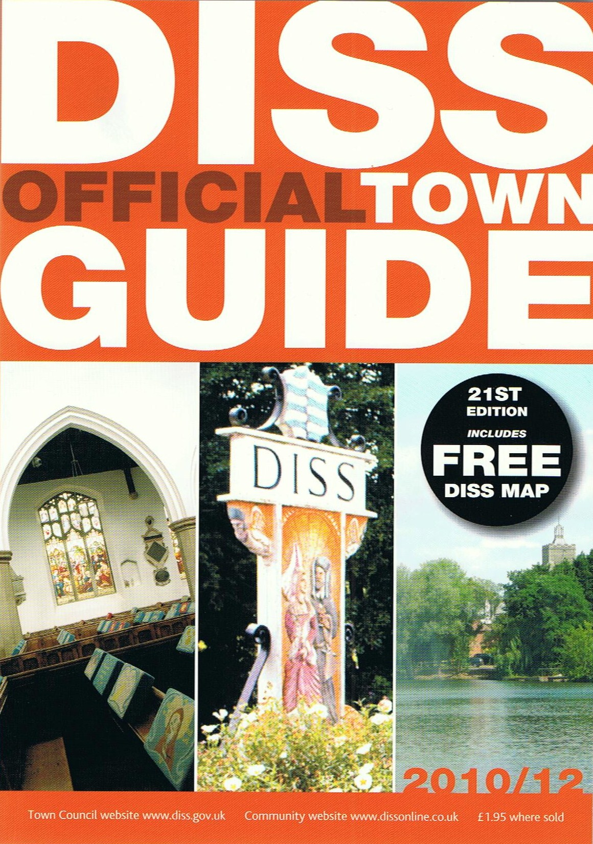 Diss, norfolk 1977 | scanned from the diss town guide 1977-7… | flickr.