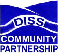 Diss Community Partnership logo