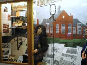 Diss Museum's exhibition in 2008 to commemorate the centenary of Diss Grammar School.