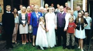 Sarah and Wayne's wedding