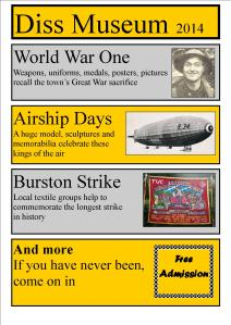Diss Museum 2014 poster