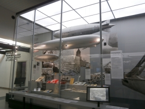 In the Zeppelin Museum.